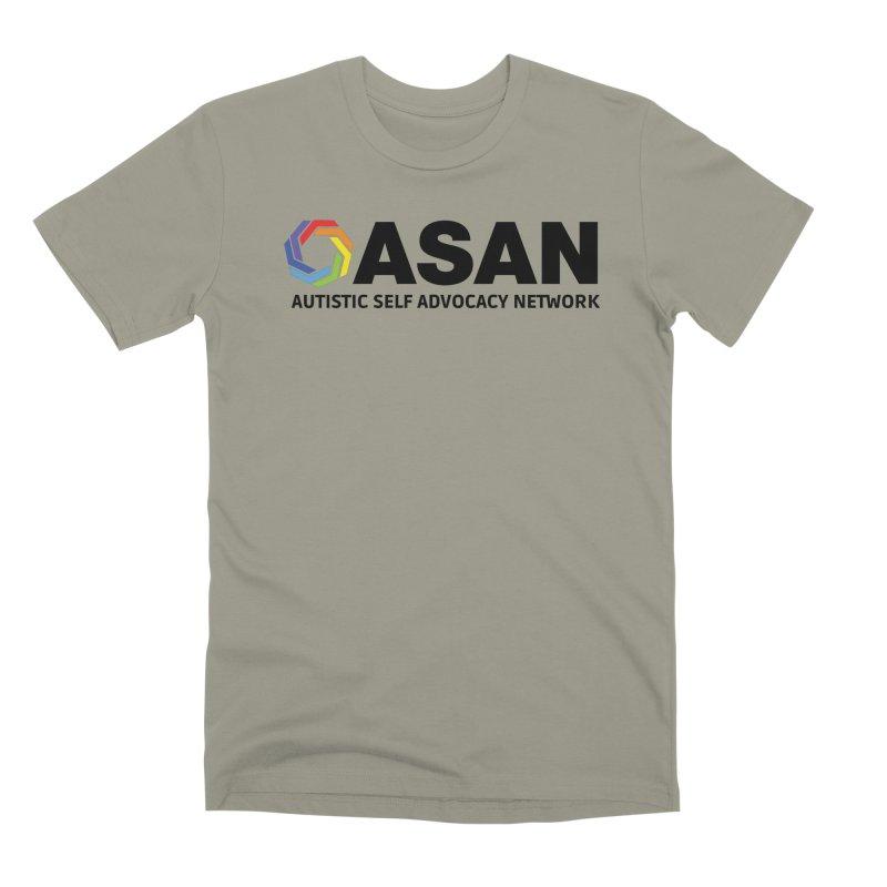 Horizontal Logo Men's Premium T-Shirt by Autistic Self Advocacy Network Shop