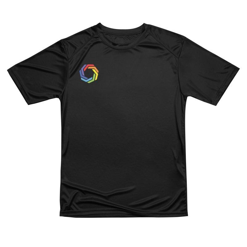 Horizontal Logo Women's Performance Unisex T-Shirt by Autistic Self Advocacy Network Shop