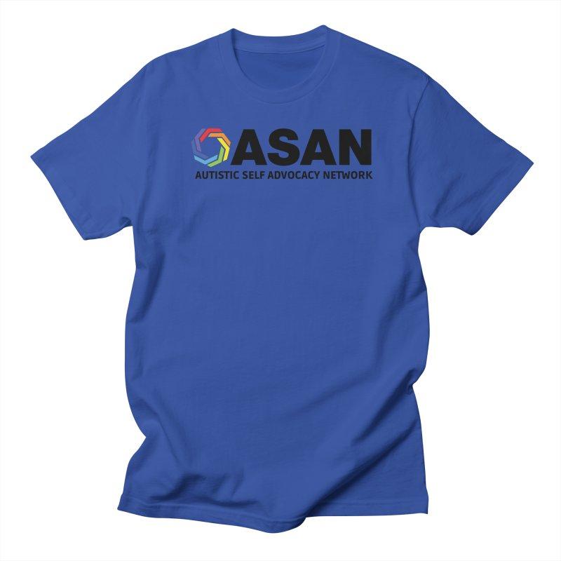 Horizontal Logo Women's Regular Unisex T-Shirt by Autistic Self Advocacy Network Shop