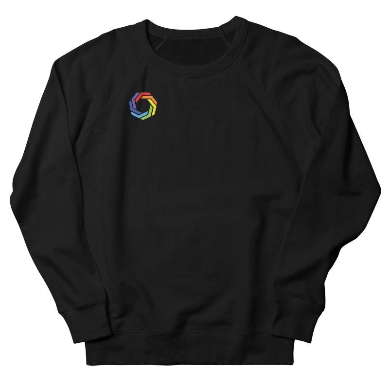 Horizontal Logo Men's French Terry Sweatshirt by Autistic Self Advocacy Network Shop
