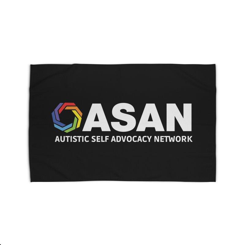Horizontal Logo (Dark) Home Rug by Autistic Self Advocacy Network Shop