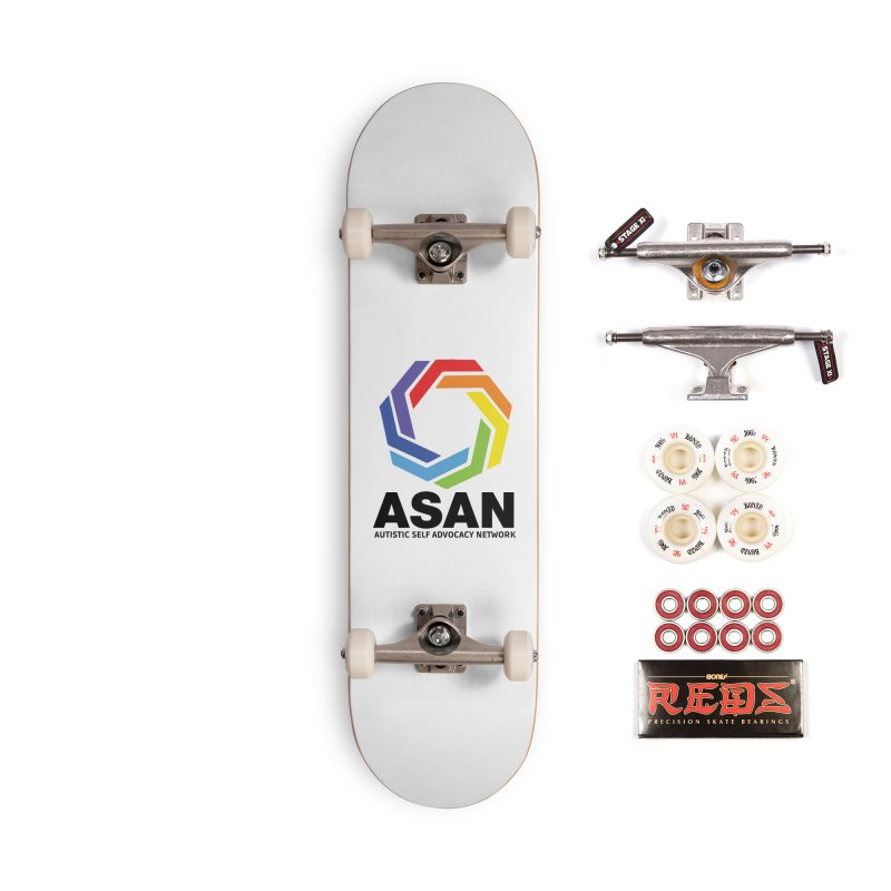 Vertical Logo Accessories Complete - Pro Skateboard by Autistic Self Advocacy Network Shop