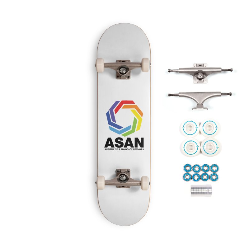 Vertical Logo Accessories Complete - Basic Skateboard by Autistic Self Advocacy Network Shop