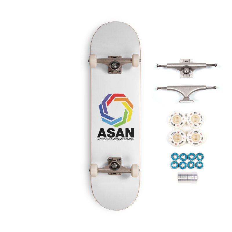 Vertical Logo Accessories Complete - Premium Skateboard by Autistic Self Advocacy Network Shop