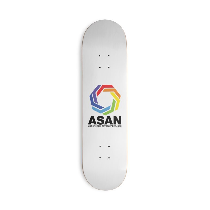 Vertical Logo Accessories Skateboard by Autistic Self Advocacy Network Shop