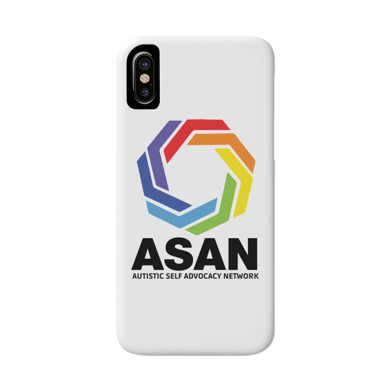 Vertical Logo Accessories Phone Case by Autistic Self Advocacy Network Shop