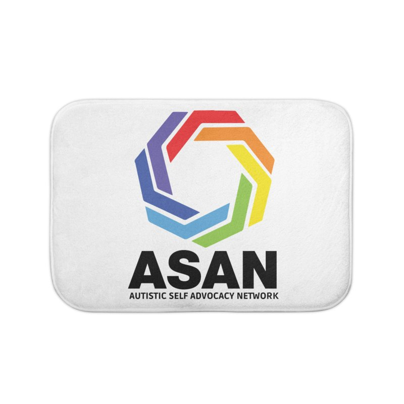 Vertical Logo Home Bath Mat by Autistic Self Advocacy Network Shop