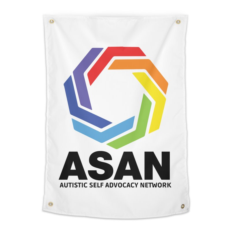 Vertical Logo Home Tapestry by Autistic Self Advocacy Network Shop