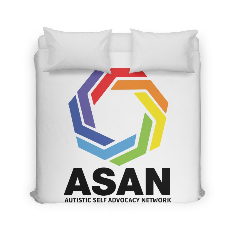 Vertical Logo Home Duvet by Autistic Self Advocacy Network Shop