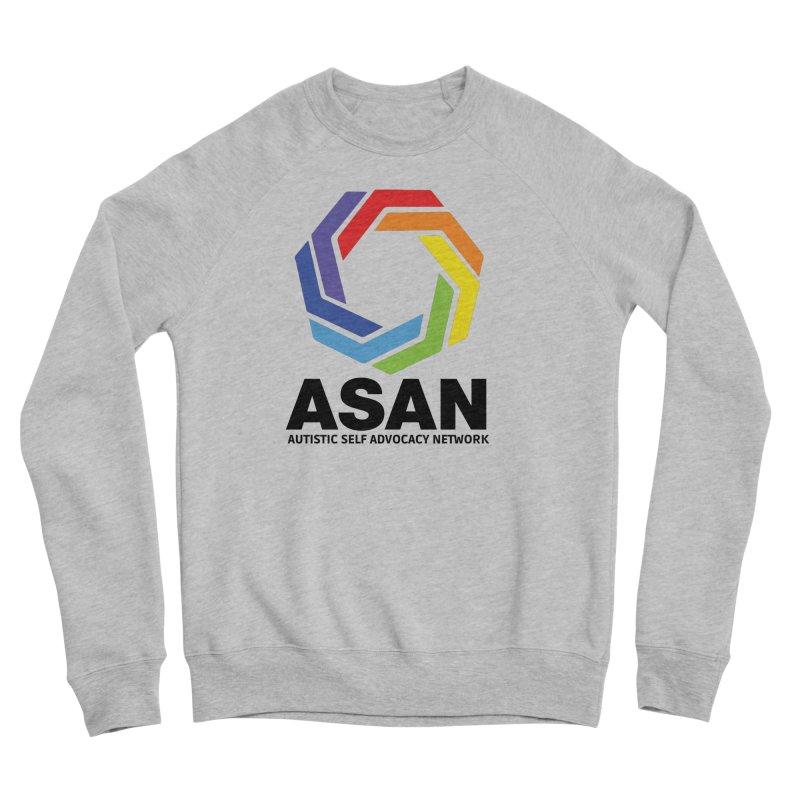 Vertical Logo Women's Sponge Fleece Sweatshirt by Autistic Self Advocacy Network Shop