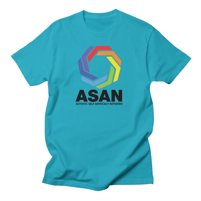 Vertical Logo Men's Regular T-Shirt by Autistic Self Advocacy Network Shop