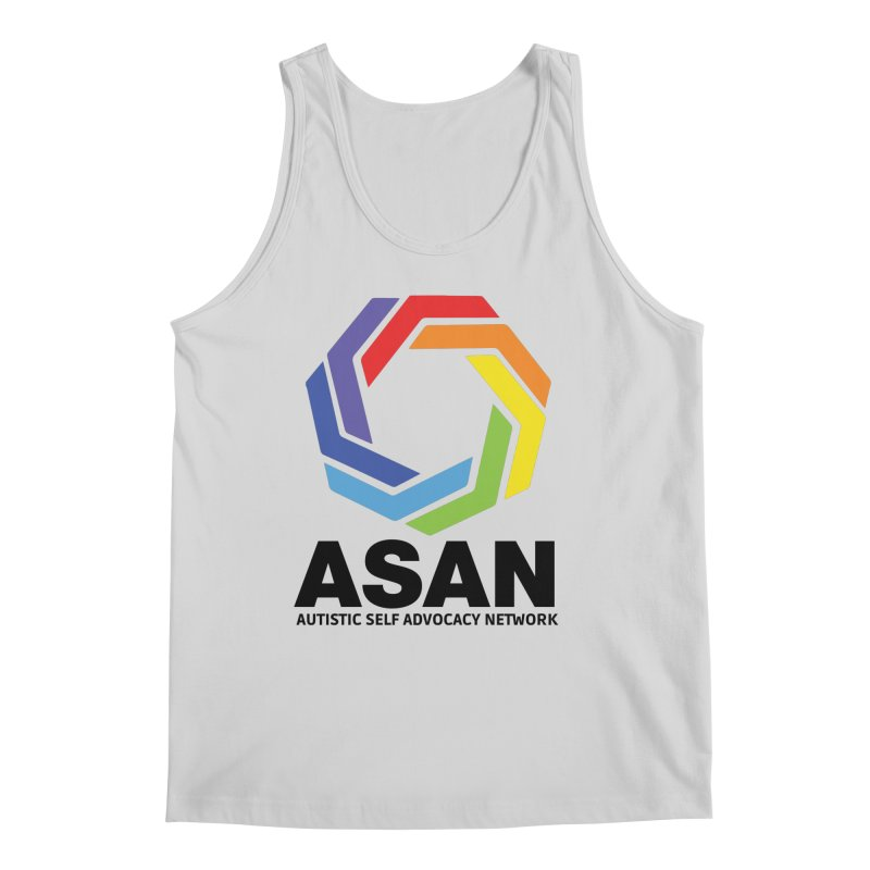 Vertical Logo Men's Regular Tank by Autistic Self Advocacy Network Shop