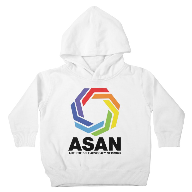 Vertical Logo Kids Toddler Pullover Hoody by Autistic Self Advocacy Network Shop