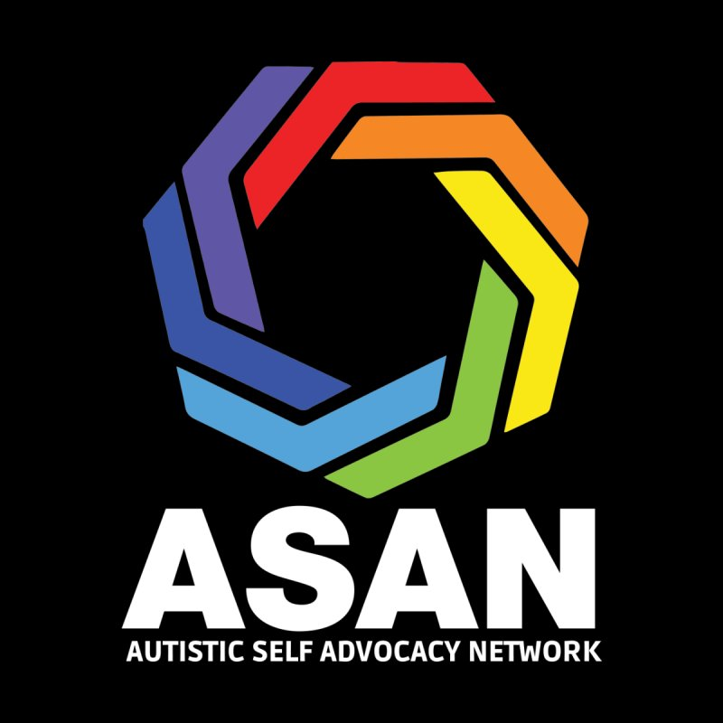 Vertical Logo (Dark) by Autistic Self Advocacy Network Shop