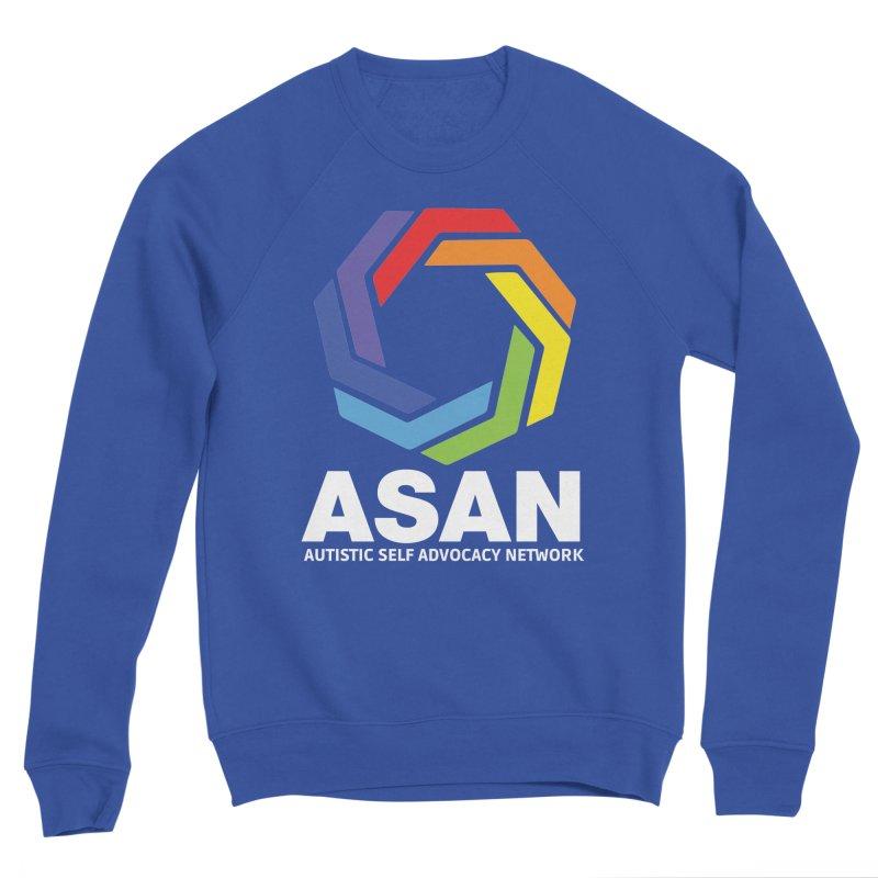 Vertical Logo (Dark) Women's Sponge Fleece Sweatshirt by Autistic Self Advocacy Network Shop