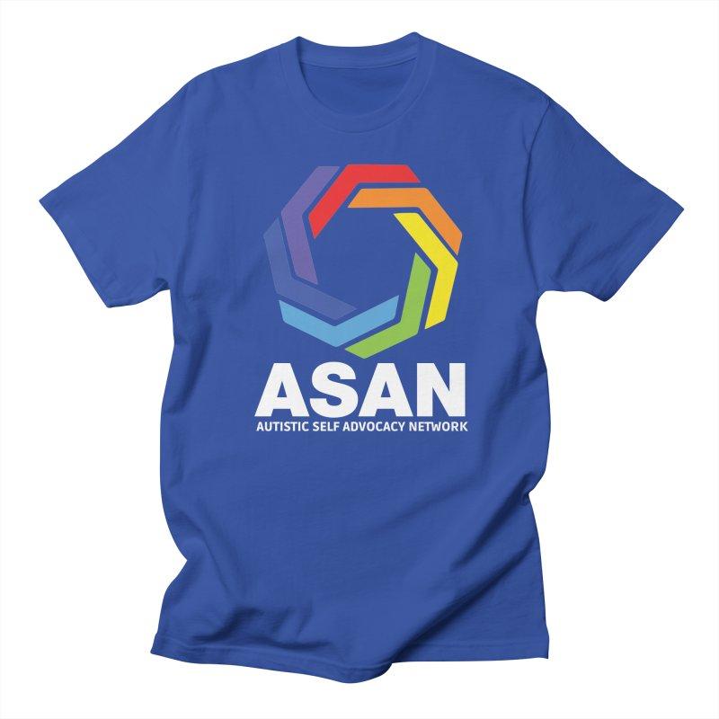 Vertical Logo (Dark) Women's Regular Unisex T-Shirt by Autistic Self Advocacy Network Shop