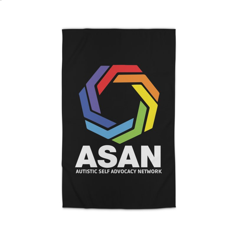 Vertical Logo (Dark) Home Rug by Autistic Self Advocacy Network Shop