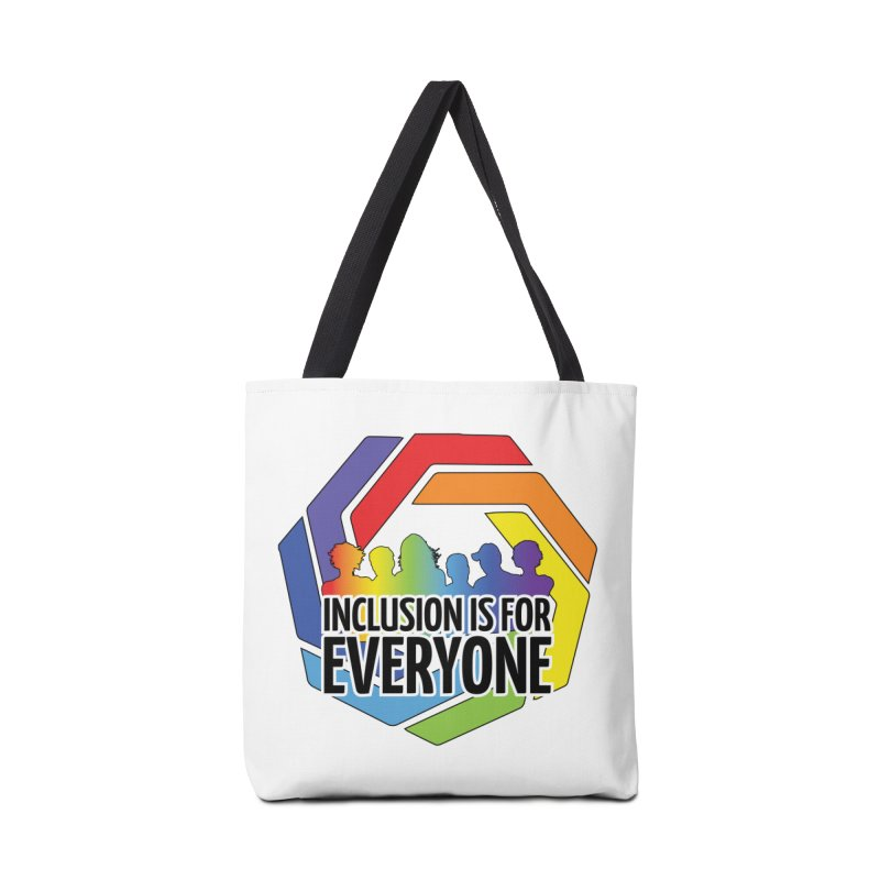 Inclusion is for Everyone Accessories Tote Bag Bag by Autistic Self Advocacy Network Shop