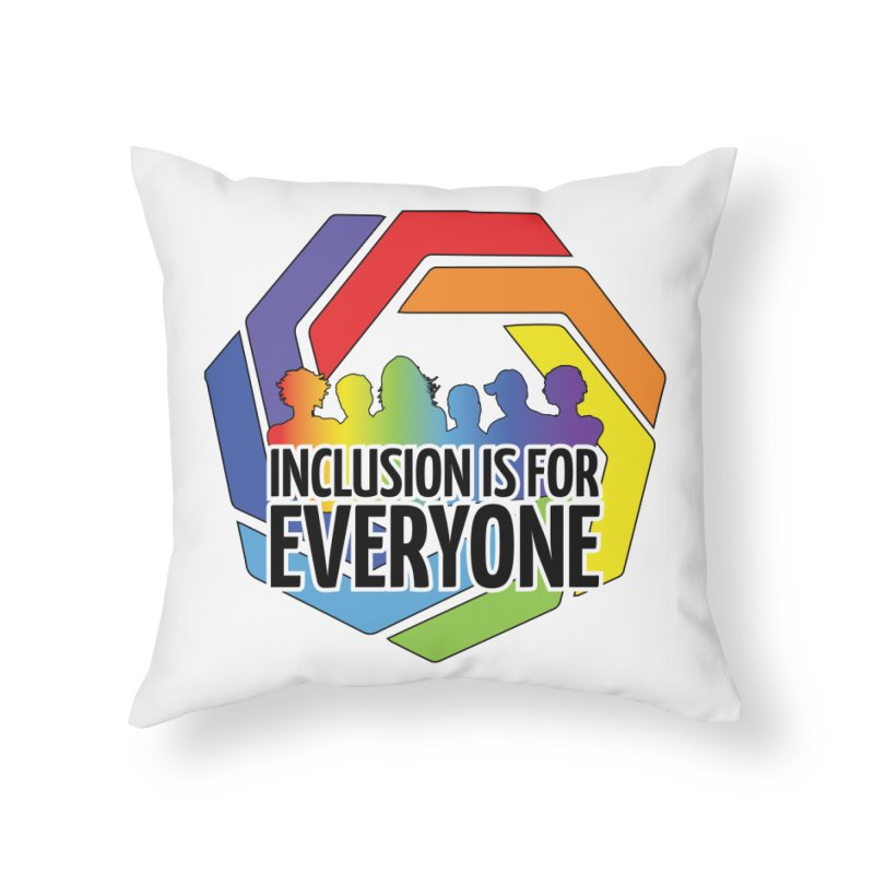 Inclusion is for Everyone Home Throw Pillow by Autistic Self Advocacy Network Shop