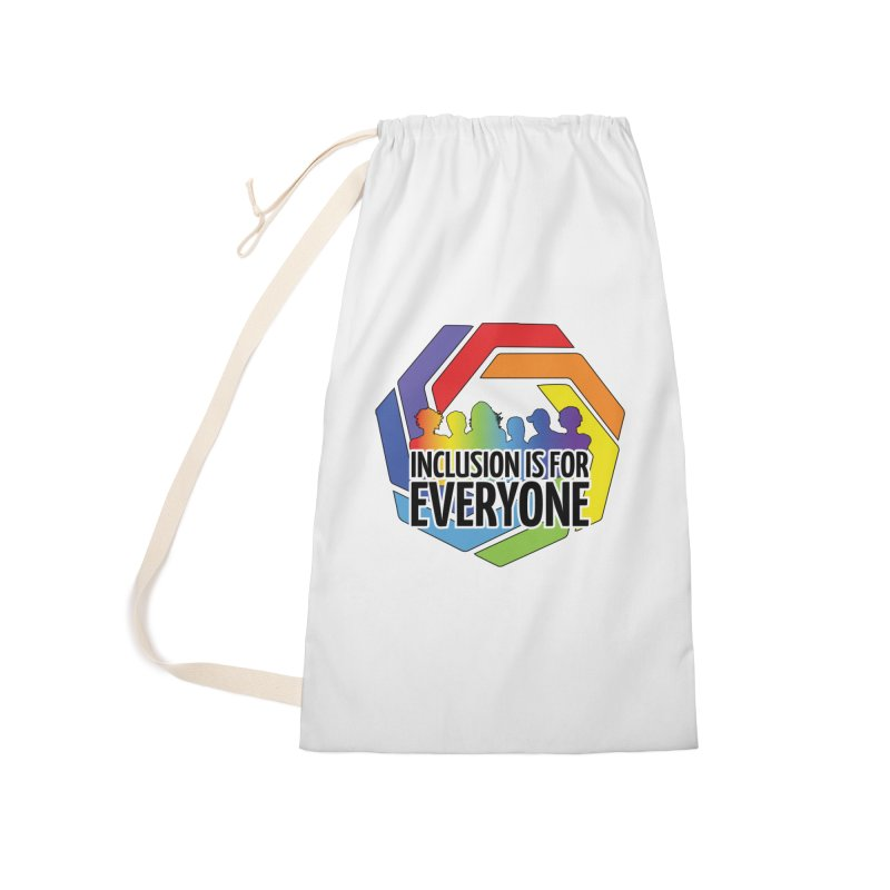 Inclusion is for Everyone Accessories Laundry Bag Bag by Autistic Self Advocacy Network Shop