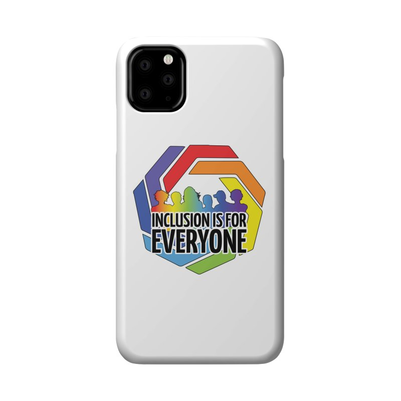 Inclusion is for Everyone Accessories Phone Case by Autistic Self Advocacy Network Shop