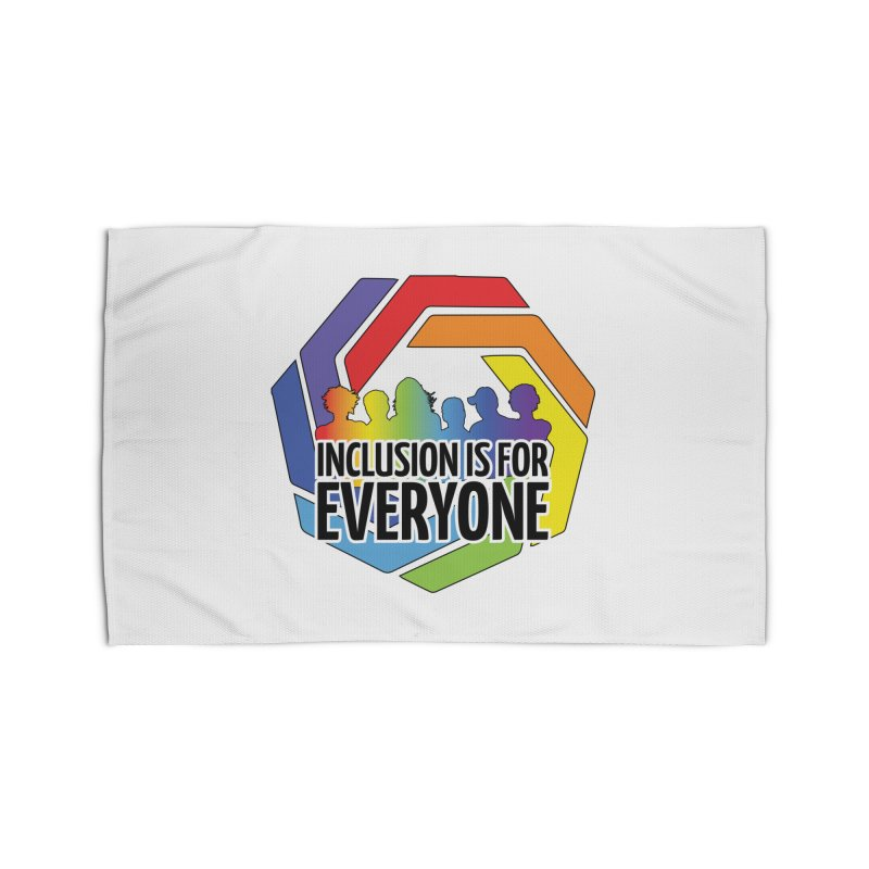 Inclusion is for Everyone Home Rug by Autistic Self Advocacy Network Shop