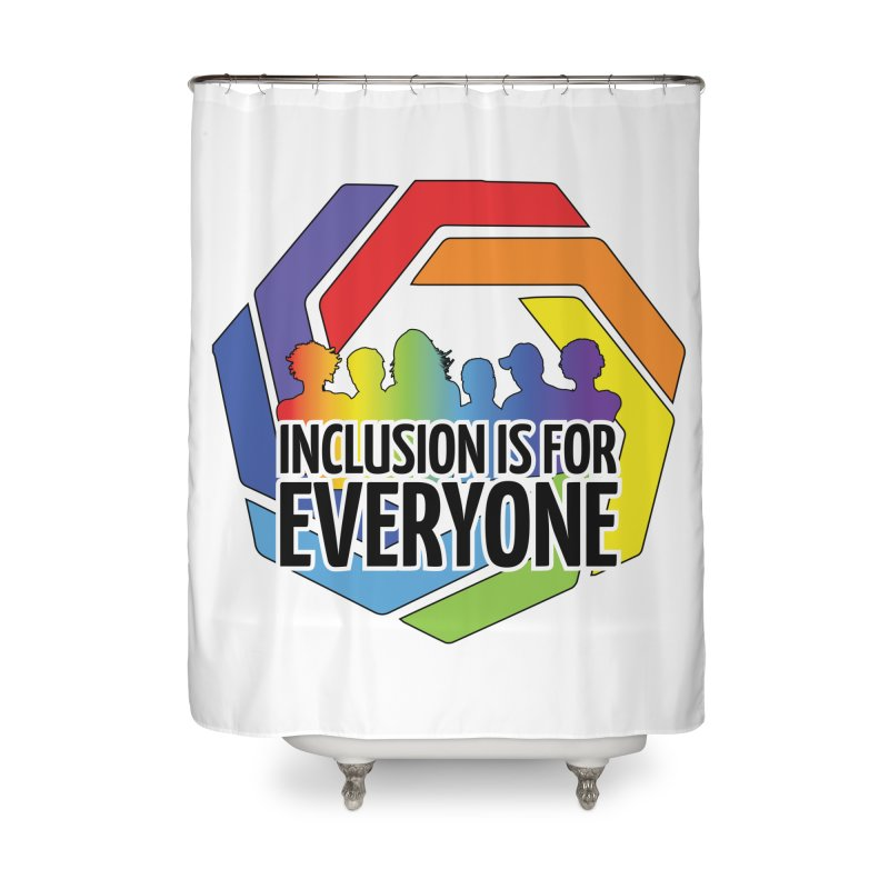 Inclusion is for Everyone Home Shower Curtain by Autistic Self Advocacy Network Shop