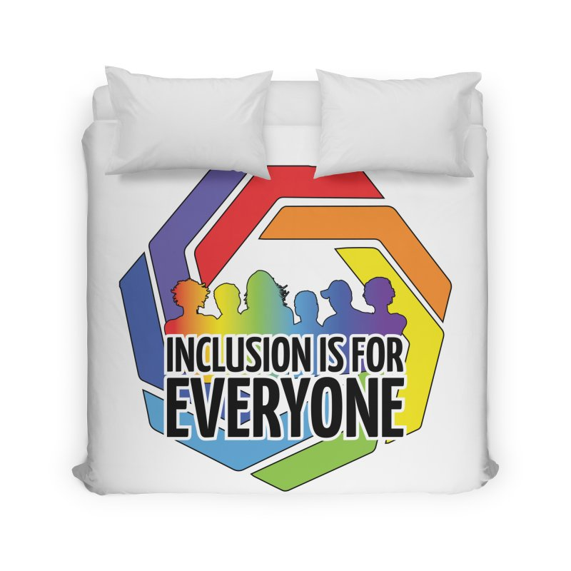 Inclusion is for Everyone Home Duvet by Autistic Self Advocacy Network Shop