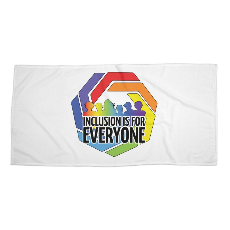 Inclusion is for Everyone Accessories Beach Towel by Autistic Self Advocacy Network Shop