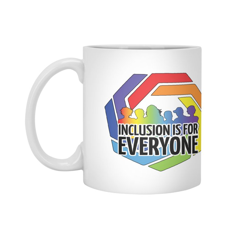 Inclusion is for Everyone Accessories Mug by Autistic Self Advocacy Network Shop