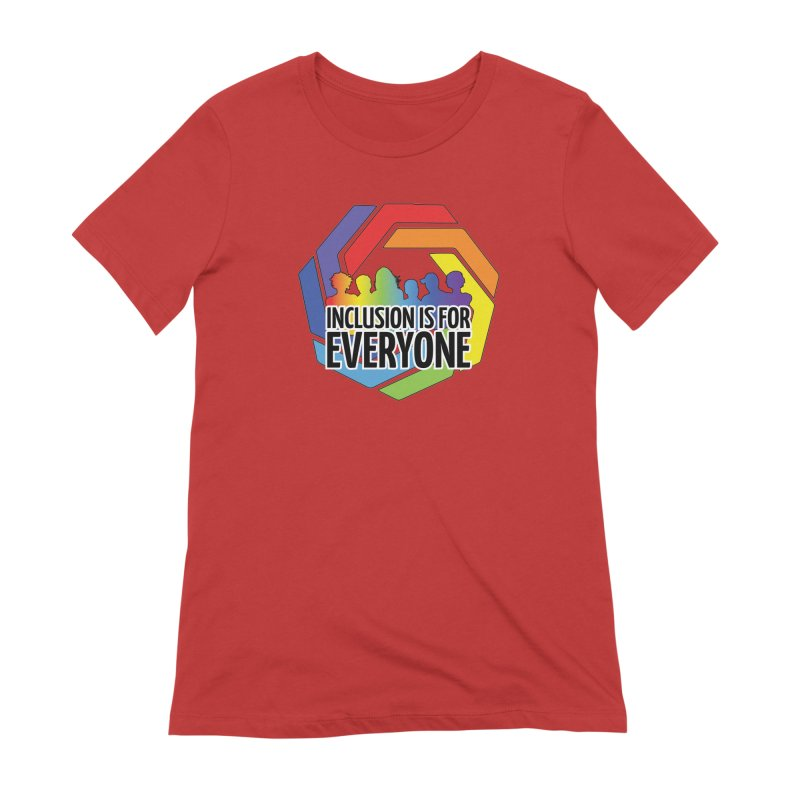 Inclusion is for Everyone Women's Extra Soft T-Shirt by Autistic Self Advocacy Network Shop