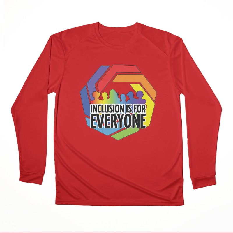 Inclusion is for Everyone Men's Performance Longsleeve T-Shirt by Autistic Self Advocacy Network Shop