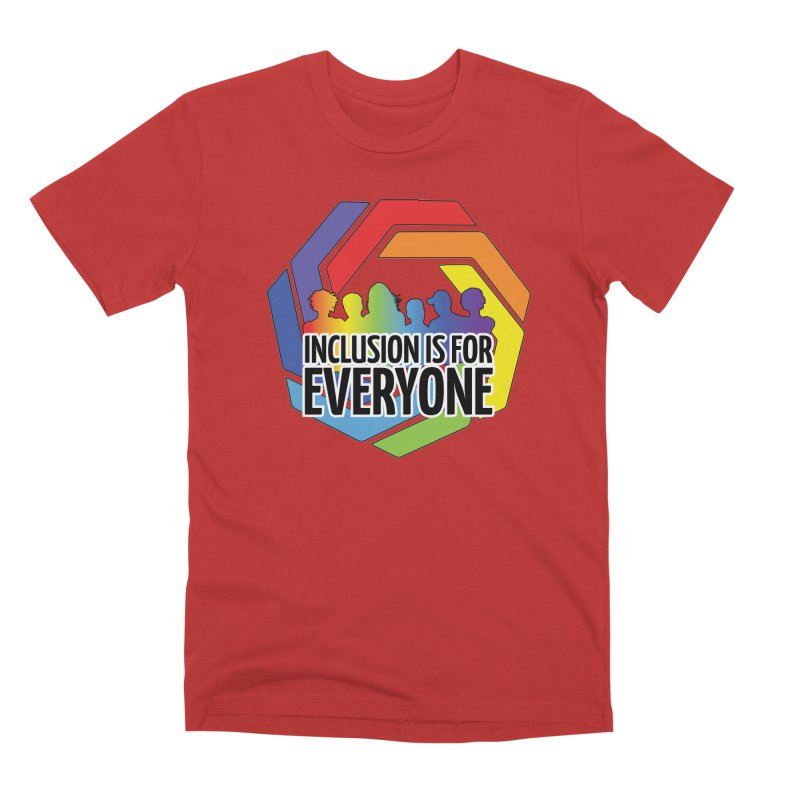 Inclusion is for Everyone Men's Premium T-Shirt by Autistic Self Advocacy Network Shop