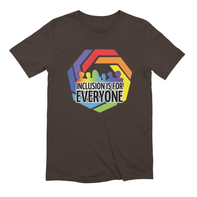 Inclusion is for Everyone Men's Extra Soft T-Shirt by Autistic Self Advocacy Network Shop