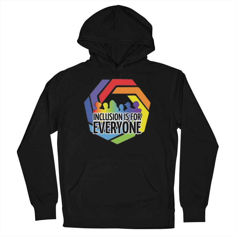 Inclusion is for Everyone Women's French Terry Pullover Hoody by Autistic Self Advocacy Network Shop