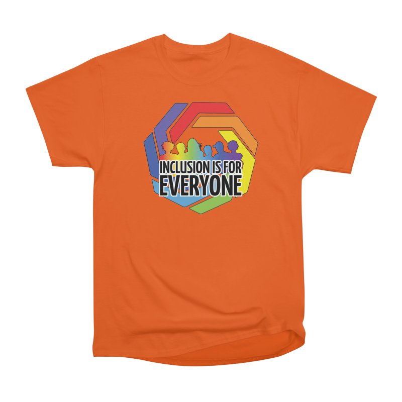 Inclusion is for Everyone Men's Heavyweight T-Shirt by Autistic Self Advocacy Network Shop