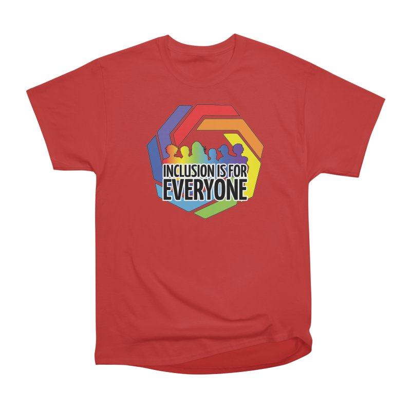 Inclusion is for Everyone Women's Heavyweight Unisex T-Shirt by Autistic Self Advocacy Network Shop