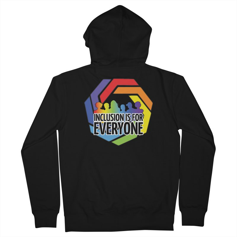 Inclusion is for Everyone Women's French Terry Zip-Up Hoody by Autistic Self Advocacy Network Shop