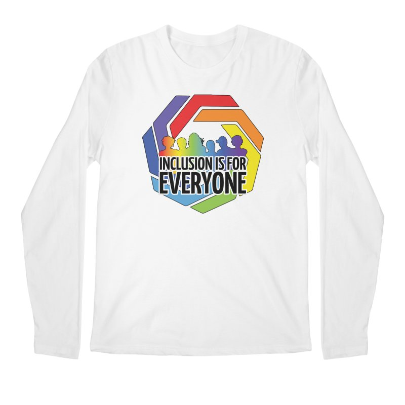 Inclusion is for Everyone Men's Regular Longsleeve T-Shirt by Autistic Self Advocacy Network Shop