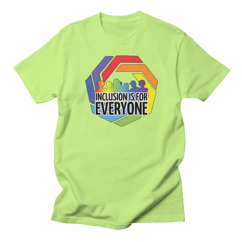 Inclusion is for Everyone Men's Regular T-Shirt by Autistic Self Advocacy Network Shop