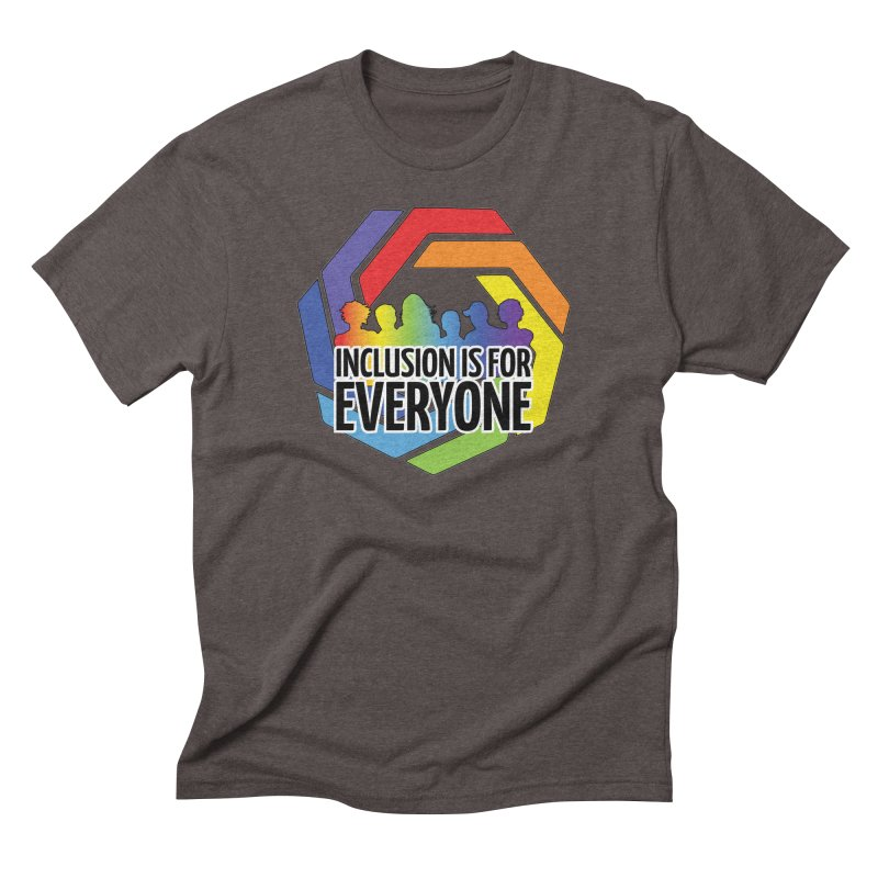 Inclusion is for Everyone Men's Triblend T-Shirt by Autistic Self Advocacy Network Shop