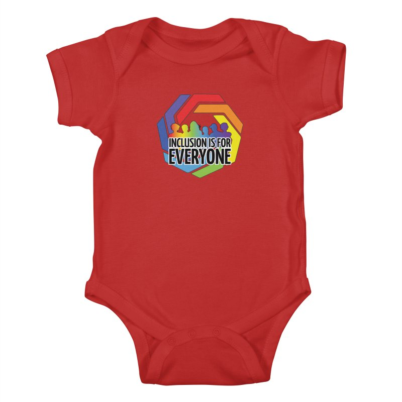 Inclusion is for Everyone Kids Baby Bodysuit by Autistic Self Advocacy Network Shop