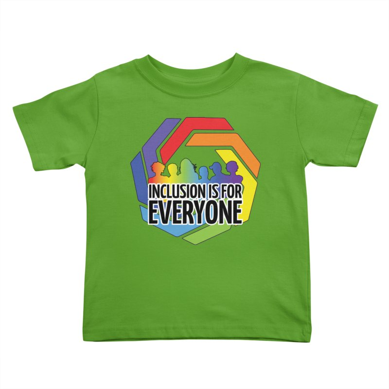 Inclusion is for Everyone Kids Toddler T-Shirt by Autistic Self Advocacy Network Shop