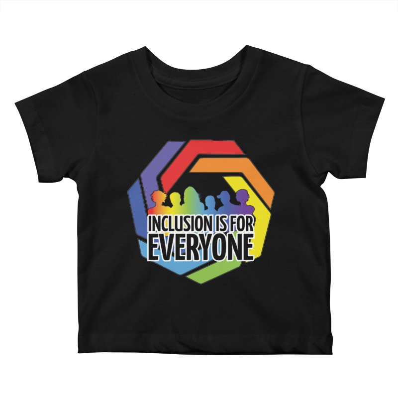 Inclusion is for Everyone Kids Baby T-Shirt by Autistic Self Advocacy Network Shop