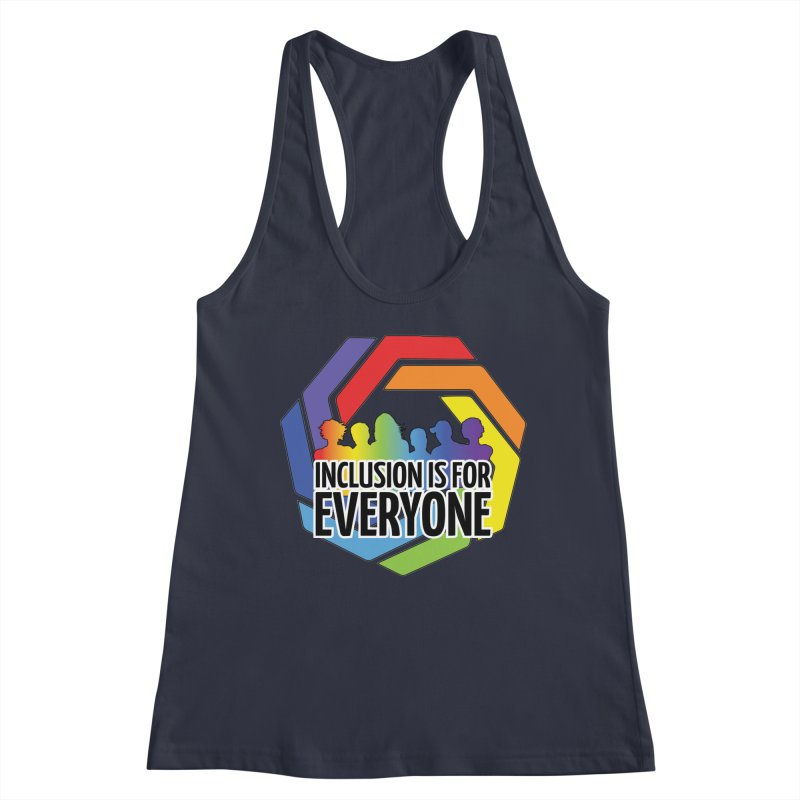 Inclusion is for Everyone Women's Racerback Tank by Autistic Self Advocacy Network Shop