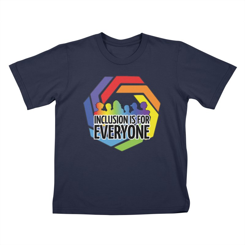Inclusion is for Everyone Kids T-Shirt by Autistic Self Advocacy Network Shop
