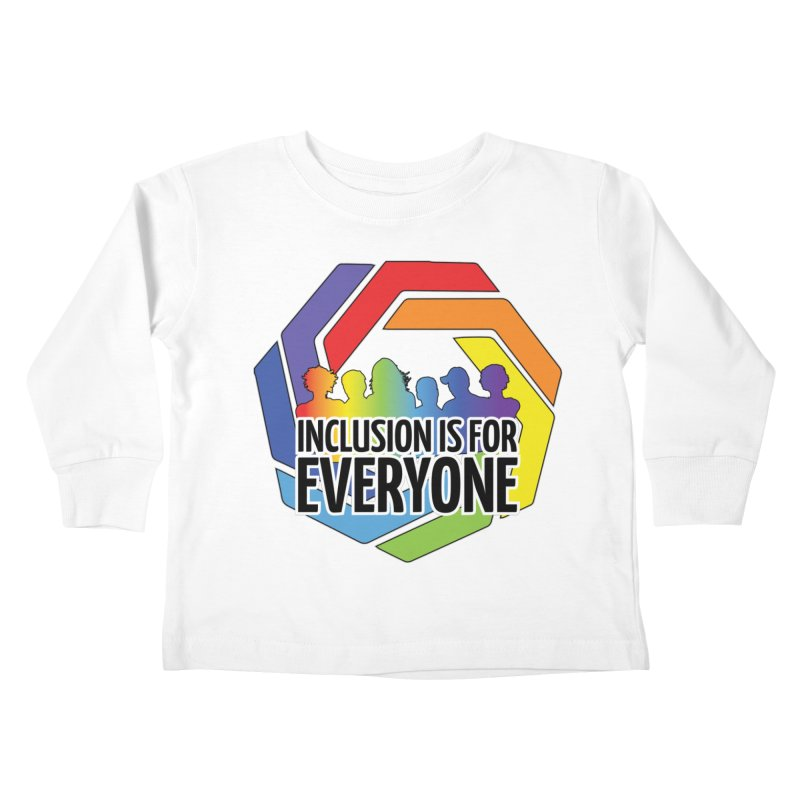 Inclusion is for Everyone Kids Toddler Longsleeve T-Shirt by Autistic Self Advocacy Network Shop