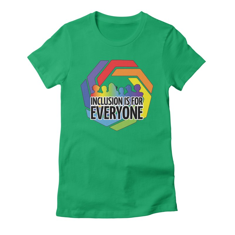 Inclusion is for Everyone Women's Fitted T-Shirt by Autistic Self Advocacy Network Shop