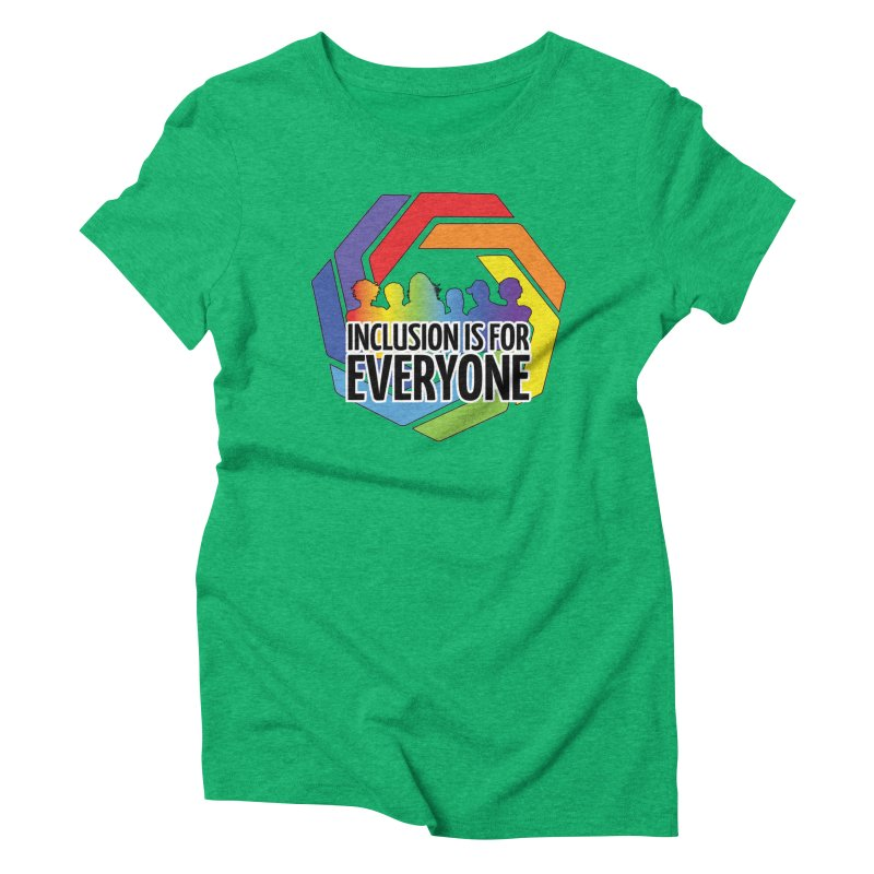 Inclusion is for Everyone Women's Triblend T-Shirt by Autistic Self Advocacy Network Shop