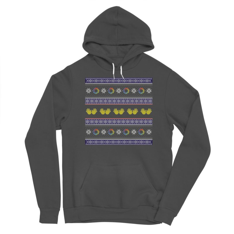 Flappy Holidays Sweater Women's Sponge Fleece Pullover Hoody by Autistic Self Advocacy Network Shop